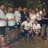 Reds Runners in riscaldamento