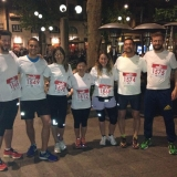 Reds Runners in riscaldamento 2