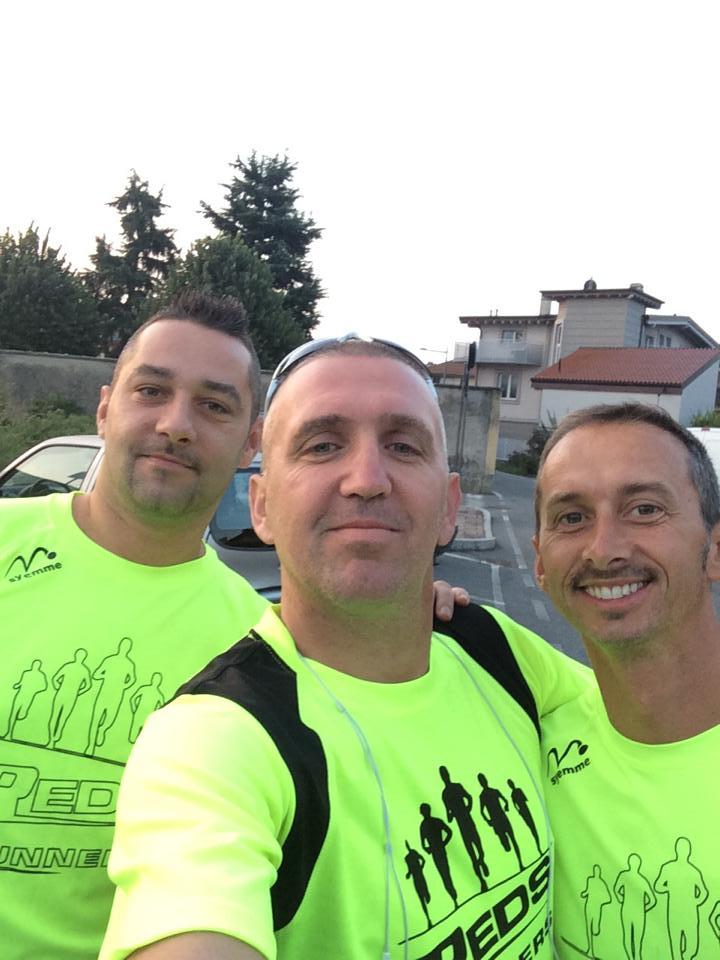 Mirko, Luca e Alberto