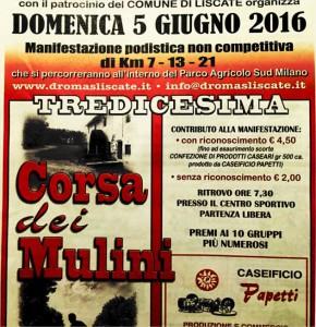 13ª CORSA DEI MULINI @ Liscate   Lombardia   Italia
