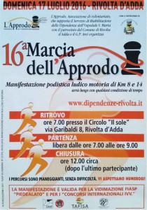 16 Marcia dell'approdo @ Rivolta d' Adda | Lombardia | Italia